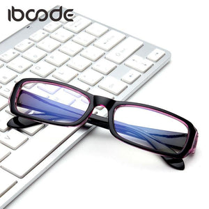 Classic Blue Film Clear Lens Glasses Anti radiation Computer Surfing Eyeweareosegal-eosegal