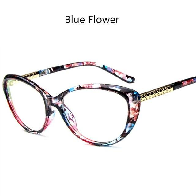 Women Retro Cat Eye Eyeglasses Spectacles Glasses Vintage Optical Glasses Frame Goggleeosegal-eosegal