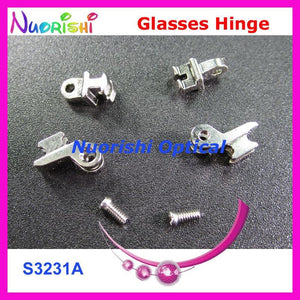 50sets or 100pcs Quality Glasses Eyewear Spectacle Eyeglasses Eyewear Hinge Screws S3231Aeosegal-eosegal