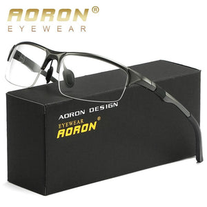 AORON Eyeglasses AL-MG Spectacle FrameMen Computer Optical Eye Clear Lens Glasses Frameeosegal-eosegal