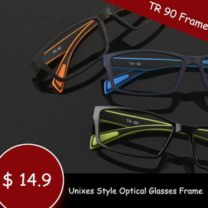 Brand Light TR 90 Eyewear Optical Glasses Frames Women Black Eyeeosegal-eosegal