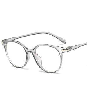 Fashion Men Women Eyewear Frame Classic Oval Vintage Retro Shades Opticaleosegal-eosegal