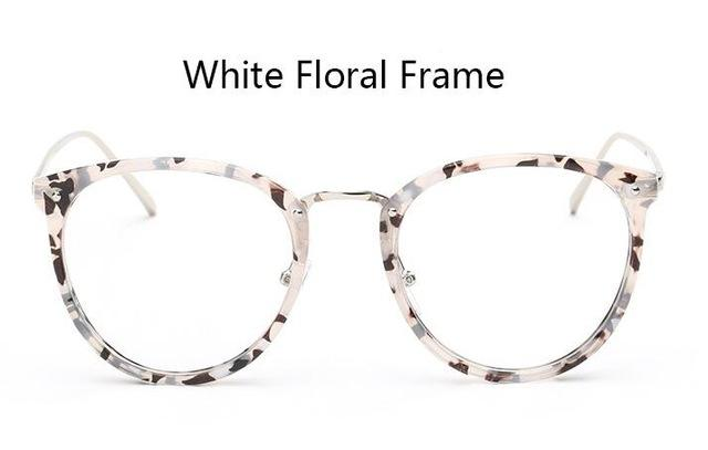 Clear Lens Cat Eye Glasses Frame Women's Fashion Oversized Spectacle Frames Transparenteosegal-eosegal