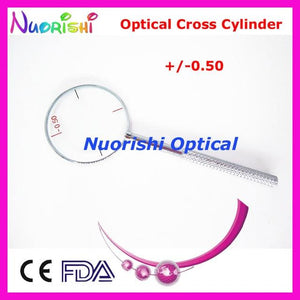 Ophthalmic Optical Cross Cylinder 4 Diopters for Optional 0.25, 0.50, 0.75,1.00 E09-5503eosegal-eosegal