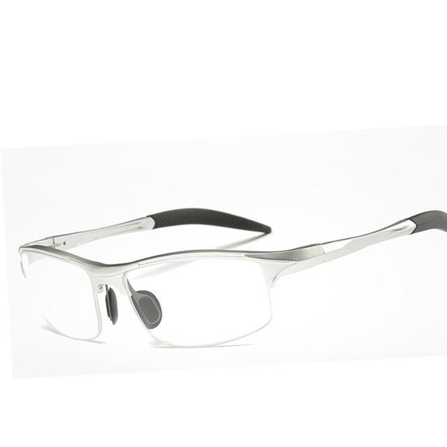 Aluminum Men Eyeglasses Fashion Myopia Optical Computer Glasses Frame Brand Design Plaineosegal-eosegal