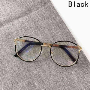 Personality Cateye Women's Spectacles Frames Clear Fashion Optical Glasses Frame Female Cooleosegal-eosegal