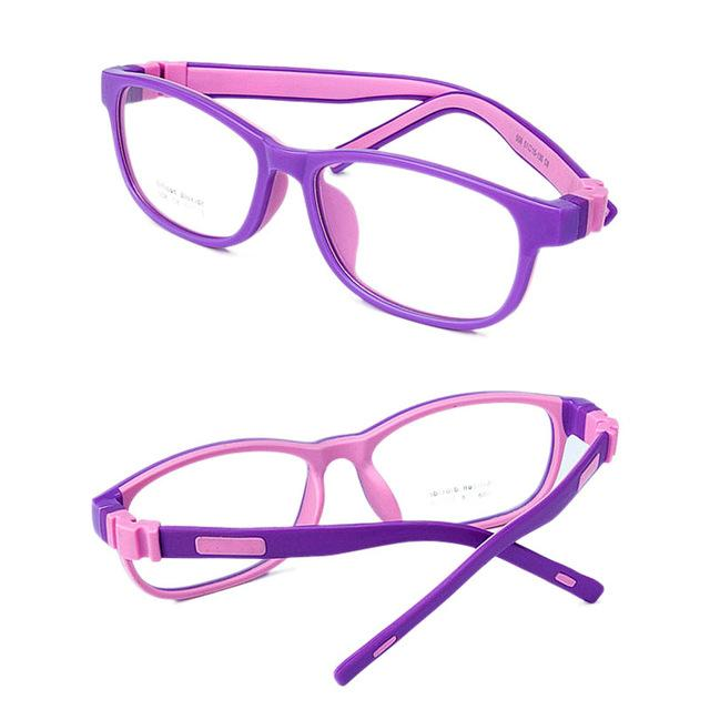 Factory Price Kids Safe Silicone Optical Eyeglasses Frames No Screws Unbreakable Boyseosegal-eosegal