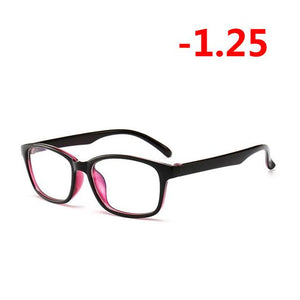 '-1.00 -1.25 -1.50 -1.75 -2.00 -2.25 To -4.0 Finished Myopia Glasses Womeneosegal-eosegal