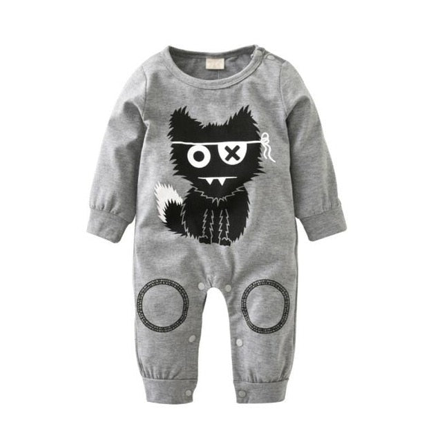 Fashion baby boy clothes long sleeve baby rompers newborn cotton baby girl clothing jumpsuit infant clothing-eosegal