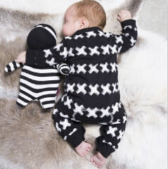 Baby Romper Newborn Baby Boy Rompers Long Sleeve Cotton Infant Clothes Baby Clothing-eosegal
