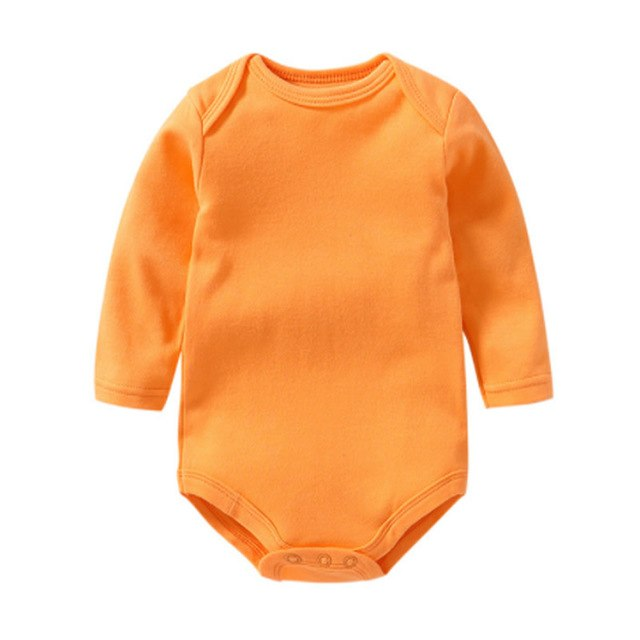 Cotton Baby Rompers Spring Autumn Newborn Baby Clothes For 0-2Y Girls Boys Long Sleeve Jumpsuit Kids Baby Outfits Clothing-eosegal