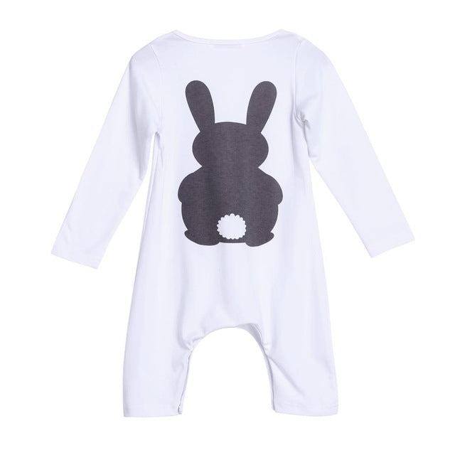 Baby Clothes Bunny Romper Winter Costumes Warm Newborn Kids Infant Rabbit Boys Girls Jumpsuit Long Sleeve Spring Girl Boy Romper-eosegal