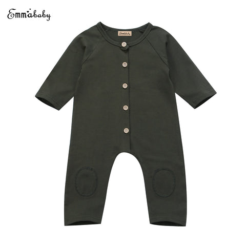 33130d1f34aa Winter Newborn Baby Boys Kids Clothes Cotton Romper Jumpsuit Playsuit Outfits  Clothing 0-24M-