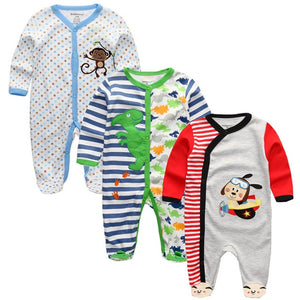 baby animal rompers clothes ropa bebe boy girl roupas full sleeve cotton infantil costume Bodies newborn 2018 New baby Clothing-eosegal