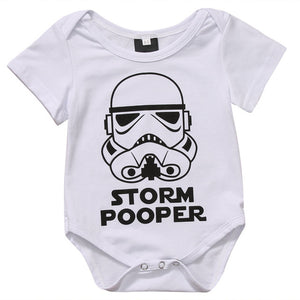 Toddler Infant Kids Newborn Baby Girls Boysr Romper Jumpsuit Short Sleeve Sunsuit Casual Printing The Force Clothes-eosegal