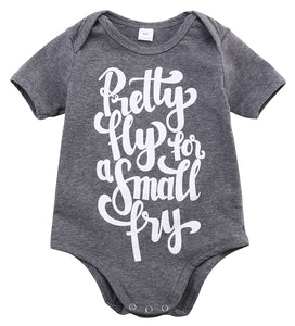 2017 Casual Infant Kids Baby boy Girls Short Sleeves Bodysuit Fretty Grey Pajamas Clothes Casual Summer Outfits SS-eosegal