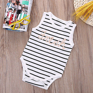 Infant Baby Boy Girls Kids Clothes Romper Babygrow Playsuit One-pieces-eosegal