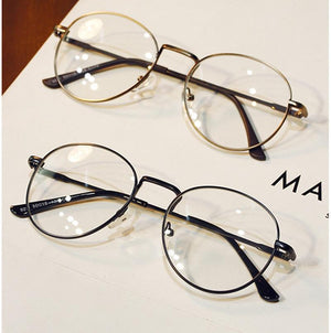 DRESSUUP Vintage Clear Lens Anti Fatigue Women Brand Design Men Glasses Roundeosegal-eosegal