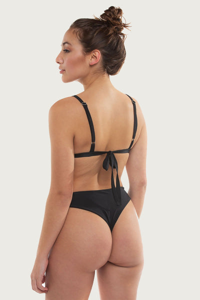 Blacks Bottom - Black - The Bikini Movement