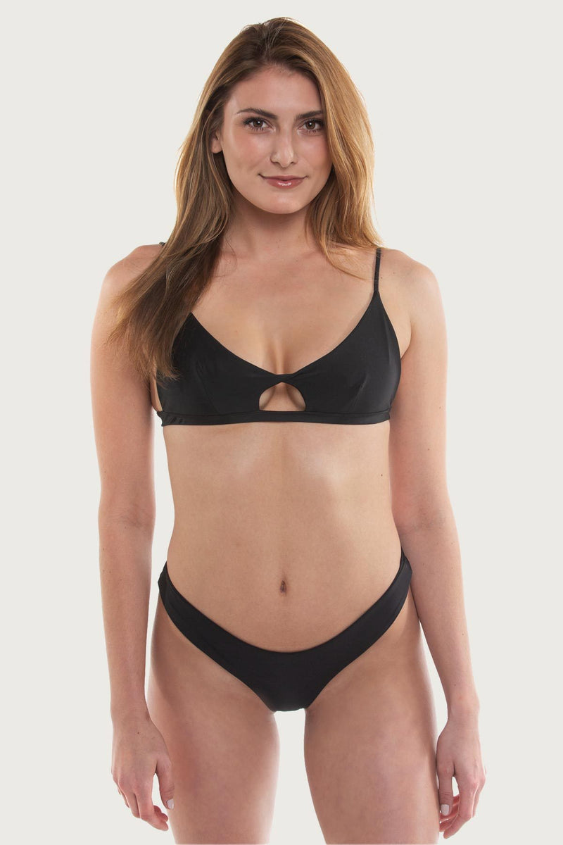 The Jetty Top - Black - The Bikini Movement