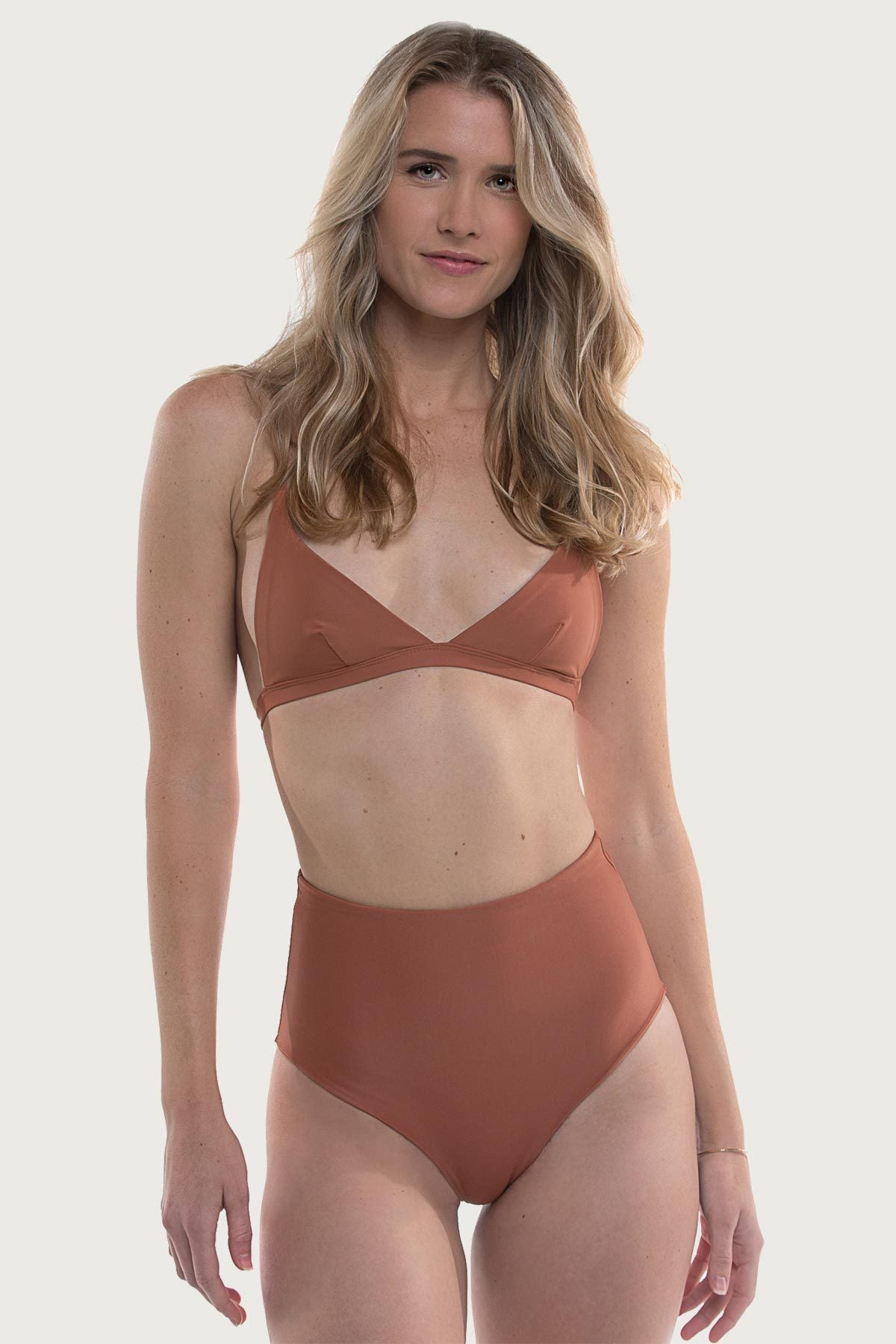 Tourmaline Top - Burnt Blush - The Bikini Movement