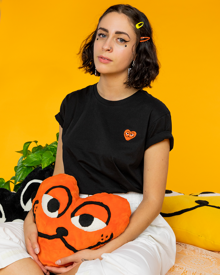 Barfbug: SPAY commme des garfield tee black (slim cut)