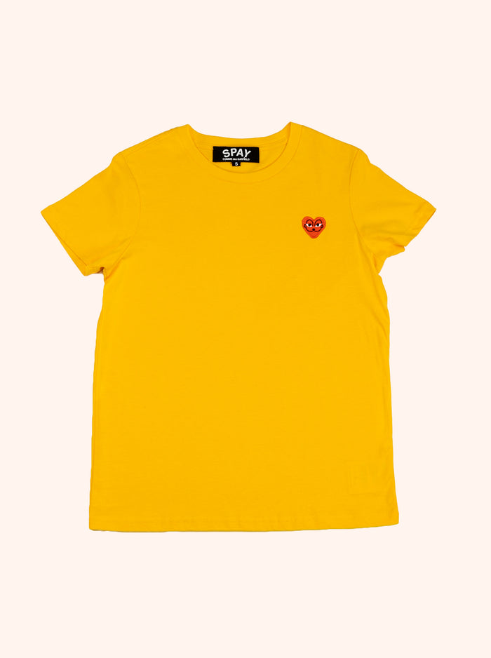 Barfbug: SPAY commme des garfield tee yellow (slim cut)
