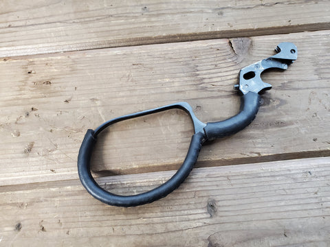 Rossi Ranch Hand large loop lever nicely wrapped in black leather