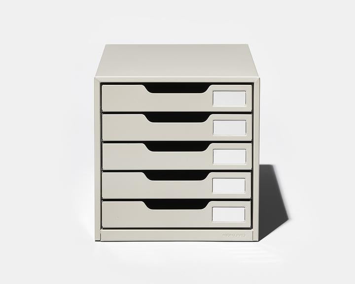 Steel Letter Case 5 drawers