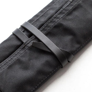 Pencil Roll - Waxed Canvas