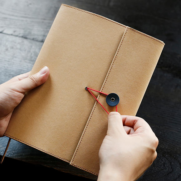 Kraft Notebook Cover - A6