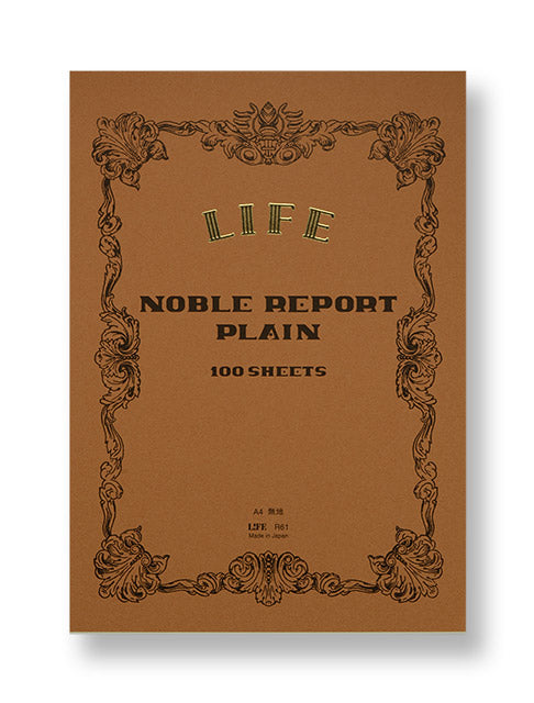 Noble Notepad Blank - A4