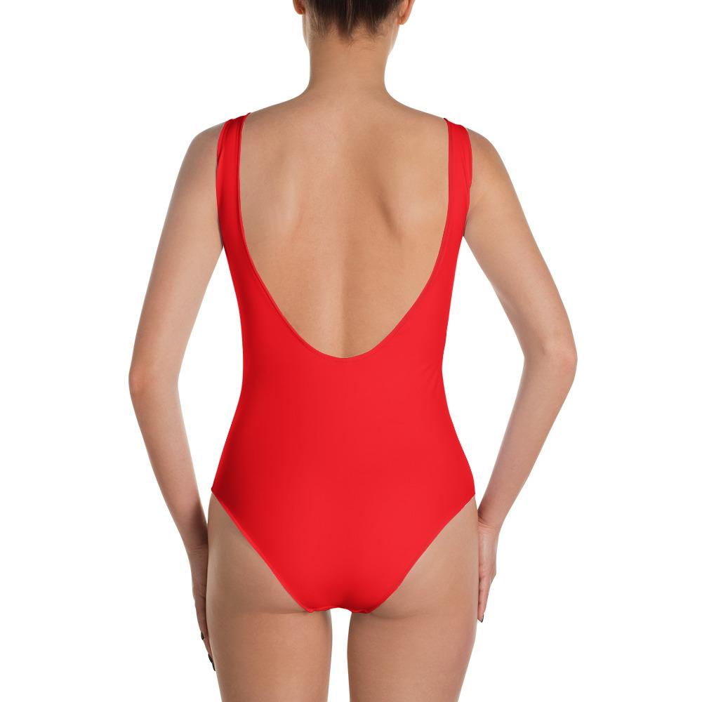 Red Guard One Piece Swimsuit - My Luxury Intimates