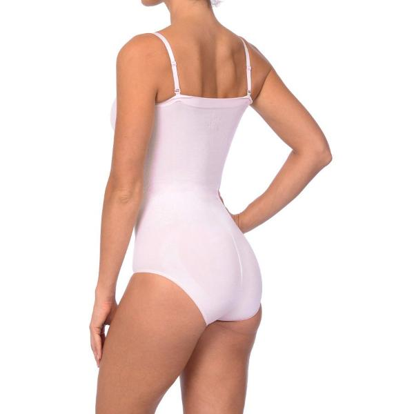 Seamless Strapless Bodysuit Pale Pink - My Luxury Intimates