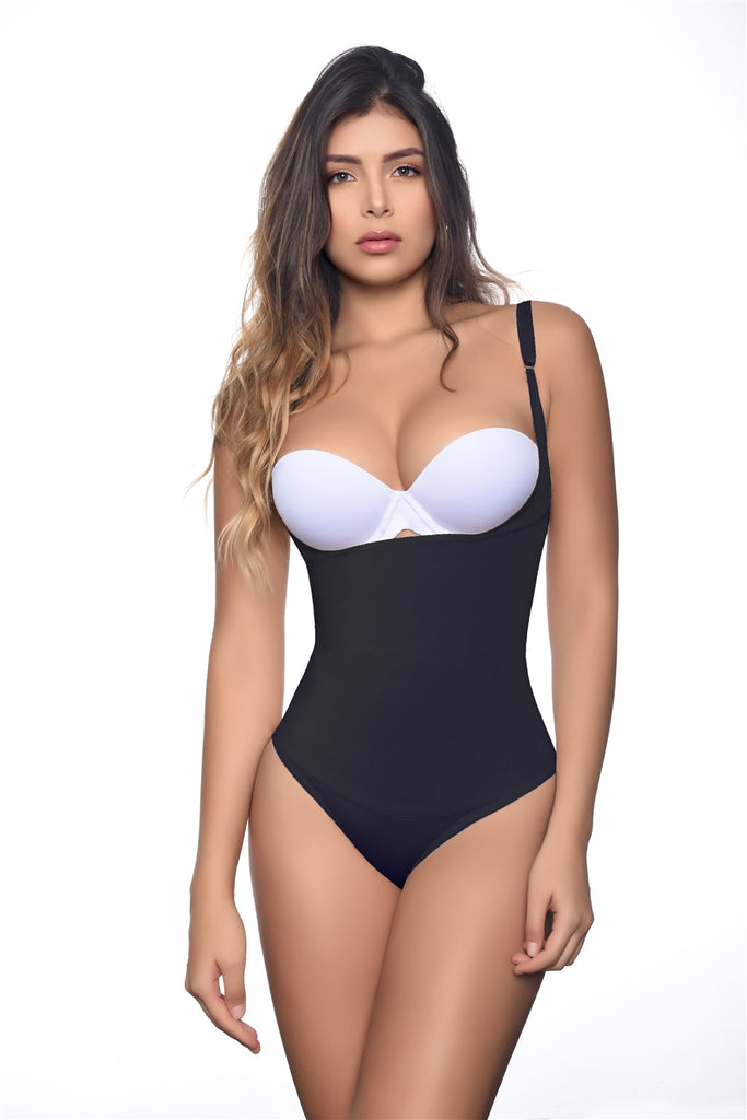Fajas Reductoras Vedette Body Shaper Black Evonne Bikini Bottom Bodysuit
