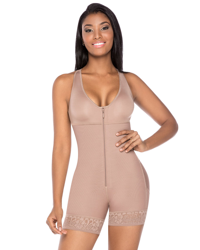Fajas Melibelt Racer Back Firm Control Bodysuit Shaper ~ XS to 4XL - My Luxury Intimates