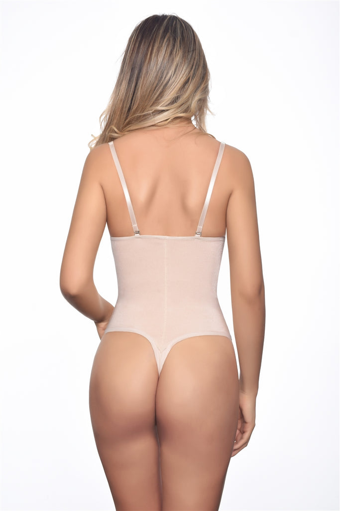 Nadine Strapless Bodysuit Shaper (Thong Bottom) - My Luxury Intimates