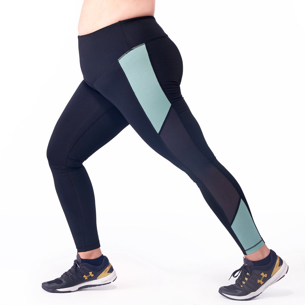 "Plus Size ""Millie"" Sports Compression Leggings - My Luxury Intimates"
