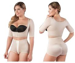 Fajas Short Sleeve Compression Vest and Posture Corrector - My Luxury Intimates