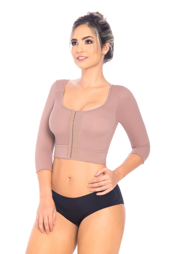 Fajas Melibelt 5033 Compression Bra with Long Sleeves