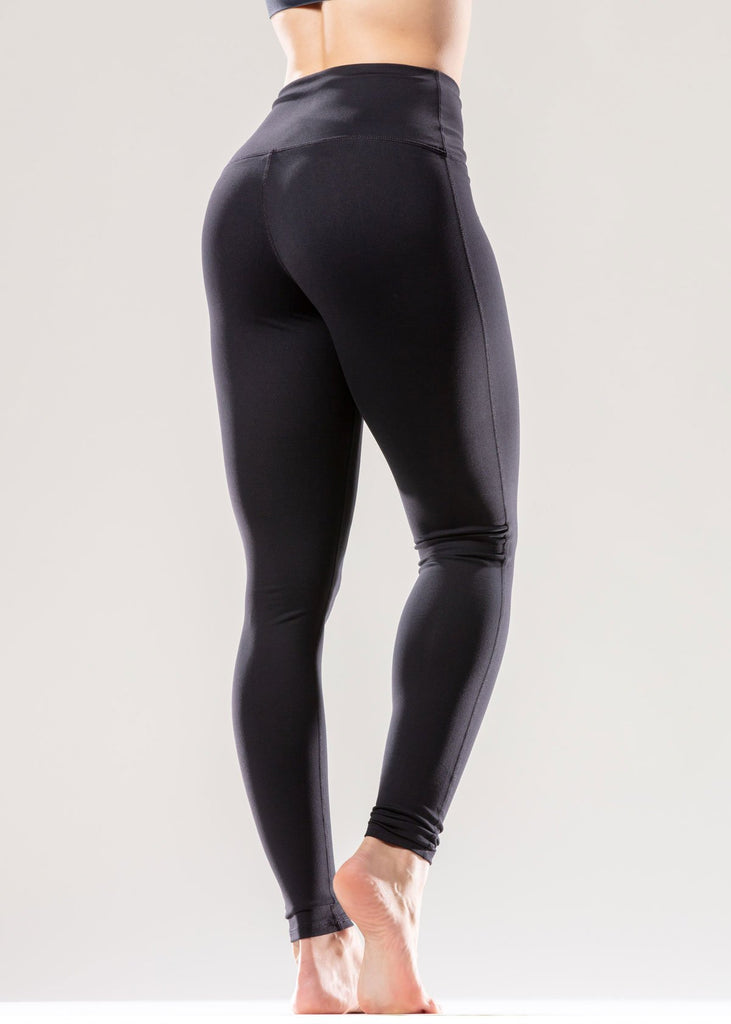 Puissante High-Waisted Luxury Black Leggings - My Luxury Intimates