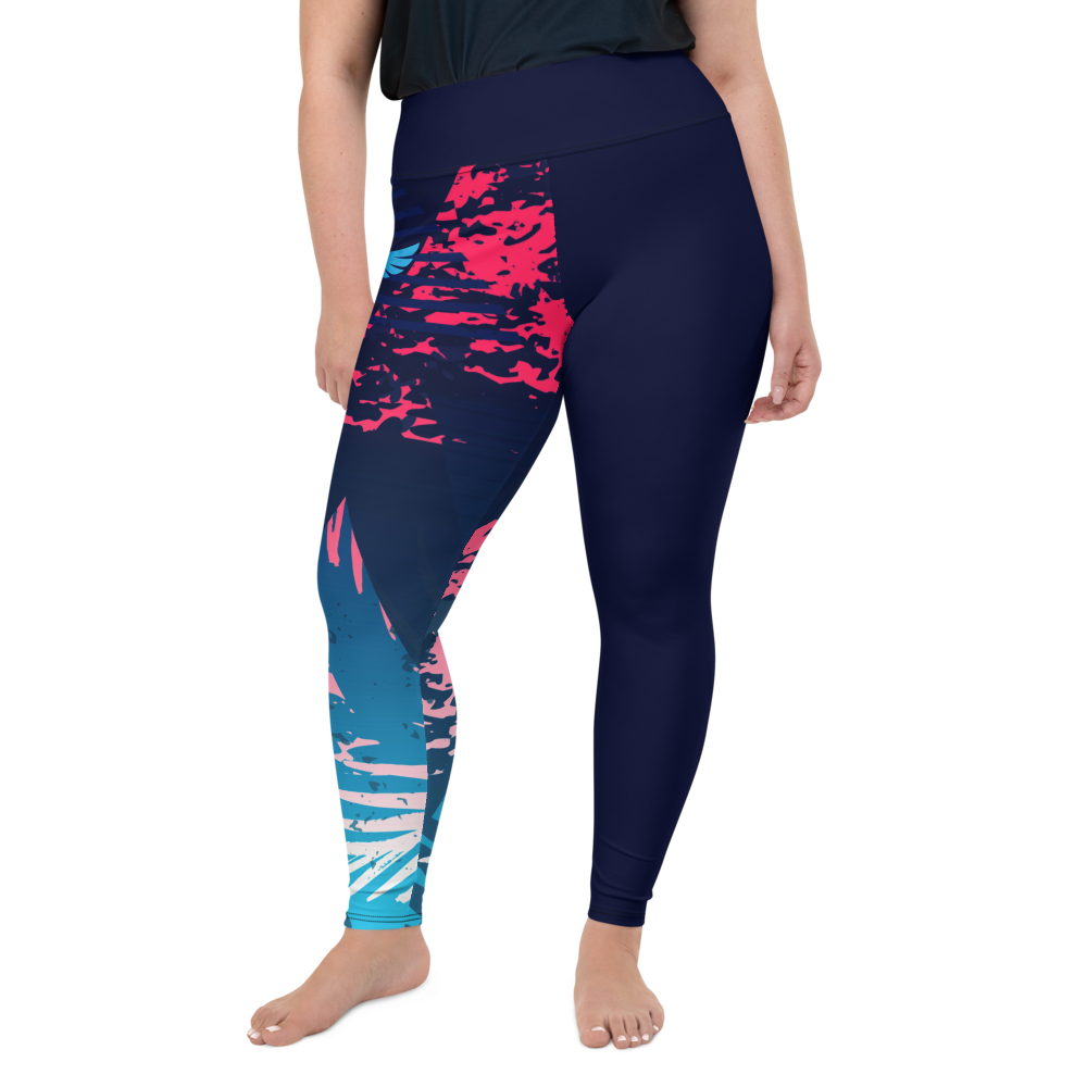 Women's All Day Comfort Victory Plus Size Leggings - My Luxury Intimates