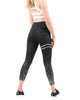 Women's Active Black Pescara Legging - My Luxury Intimates