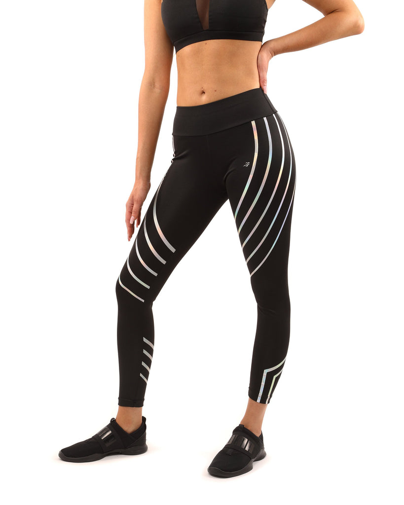Black Laguna Sports Leggings - My Luxury Intimates