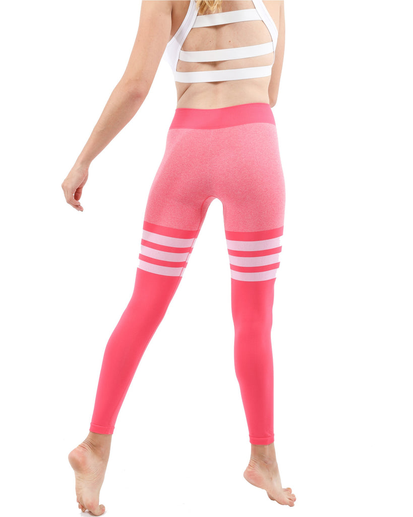 Cassidy Active Sports Red Leggings - My Luxury Intimates