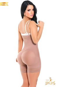 Melibelt Firm Control Strapless High Waist Panty Girdle to Size 4X
