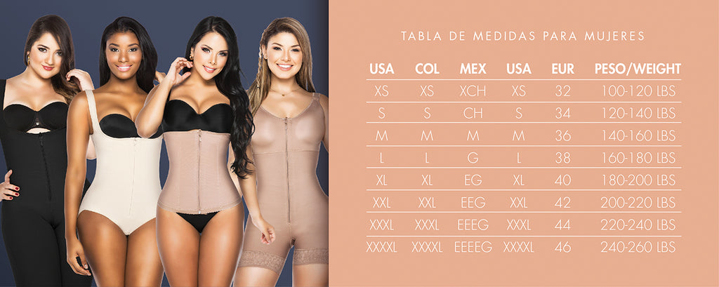 Fajas Reductoras Post Surgical Powernet Compression Bodysuit - My Luxury Intimates