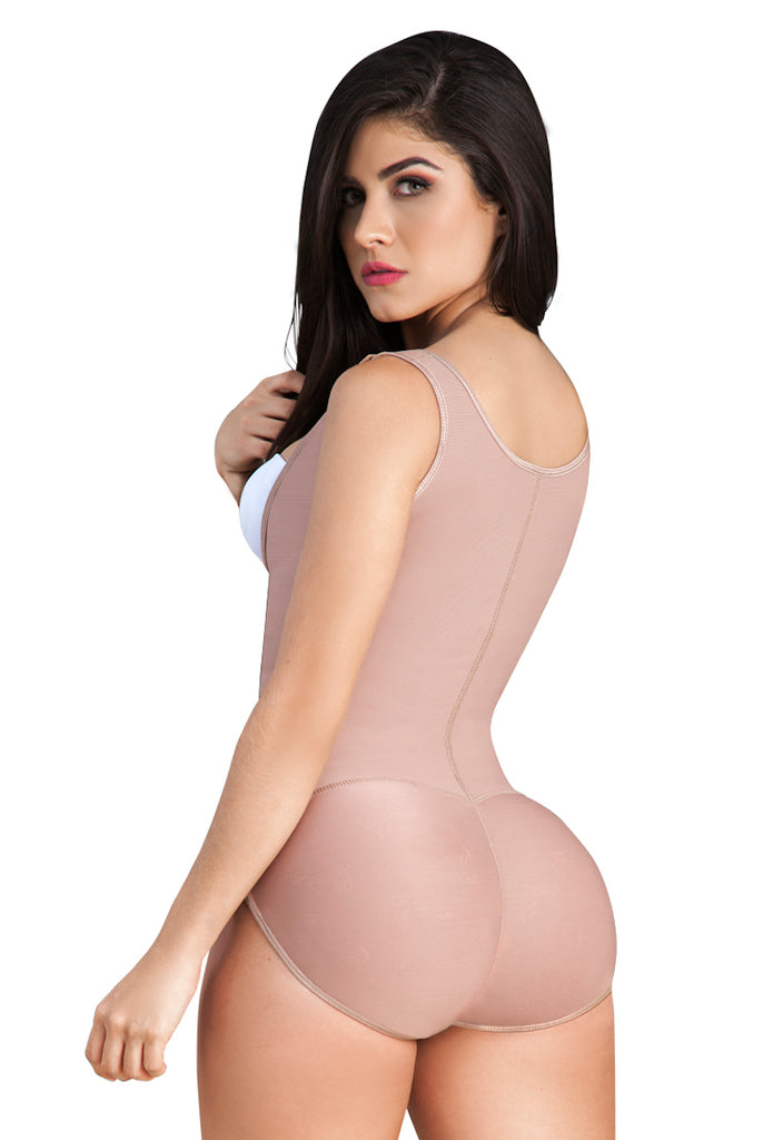 Melibelt Bodyshaper with Wide Straps Tummy Control Girdle - My Luxury Intimates