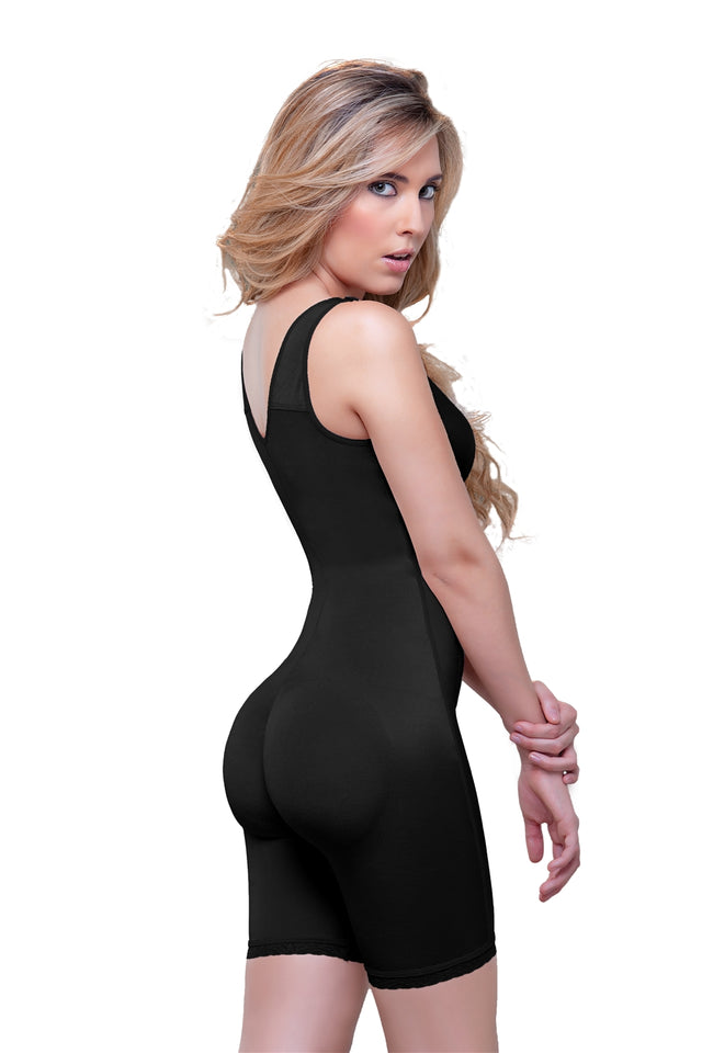 Celeste Post-Surgery Front Zipper Compression Bodysuit