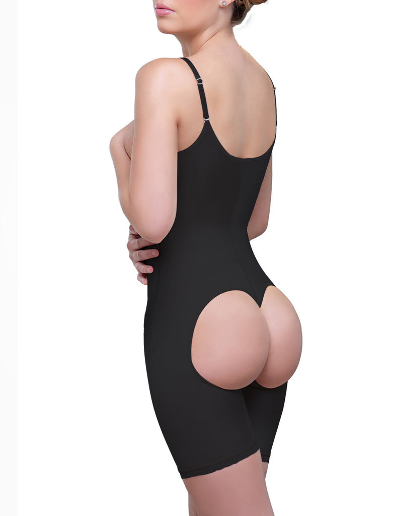 Vedette Amelie Front Hook Butt Lifter Mid Thigh  Bodysuit - My Luxury Intimates